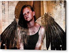 Angelic Eclipse Acrylic Print