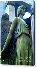 Acrylic Print featuring the photograph Angelic Guard by Michael Hoard