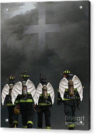 Angelic Heroes Acrylic Print