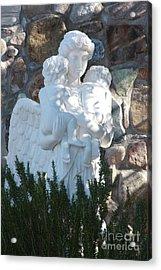 Angelic Motherhood Acrylic Print