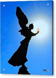 Angelic Acrylic Print by Patrick Witz