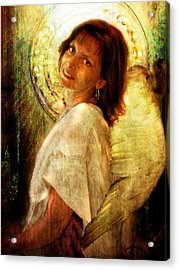 Angelic Repose  Acrylic Print