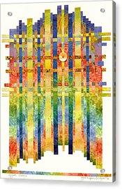 Angelic Visions Acrylic Print