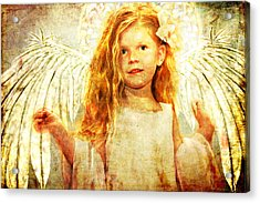 Angelic Wonder Acrylic Print