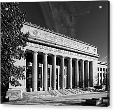 Angell Hall - University Of Michigan Acrylic Print