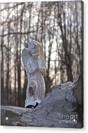 Angels Are Everywhere Acrylic Print