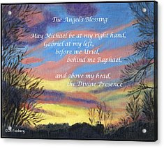Angel's Blessing Acrylic Print