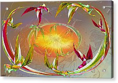 Angels Gather To The Love Of The Lord Acrylic Print