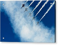 Angels In A Cloud Acrylic Print