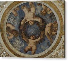 Angels In Castello Del Buonconsiglio Acrylic Print