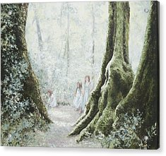 Angels In The Mist Acrylic Print
