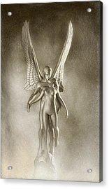 Angel's Kiss Acrylic Print