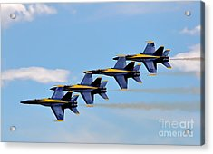 Angels Of The Sky Acrylic Print