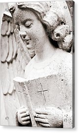Angels Prayers And Miracles Acrylic Print