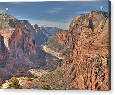 Acrylic Print featuring the photograph Angel's View by Jeff Cook