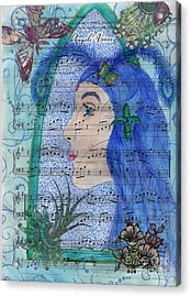 Angel's Voices Acrylic Print by Tamyra Crossley