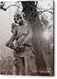 Angels Will Watch Over You Acrylic Print by Artist and Photographer Laura Wrede