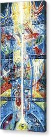 Angels Acrylic Print by Yael Avi-Yonah
