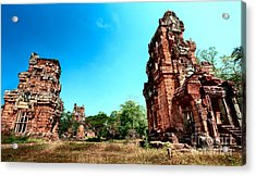 Angkor Wat Ruins Acrylic Print