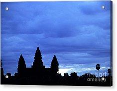 Angkor Wat Sunrise 01 Acrylic Print by Rick Piper Photography