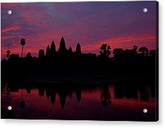 Angkor Wat, The Mandatory Shot Acrylic Print