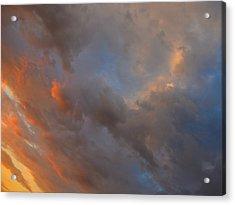 Angle Color Acrylic Print by Dennis James