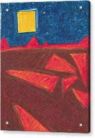Angled Landscape Acrylic Print