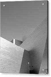 Angles Acrylic Print by Barbara Bardzik