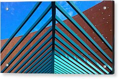 Acrylic Print featuring the photograph Angles by Richard Stephen
