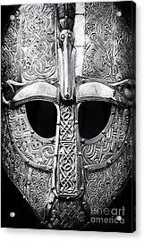 Anglo Saxon Helmet Acrylic Print by Tim Gainey
