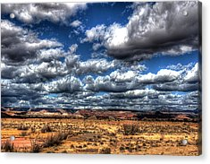 Angry Clouds Acrylic Print