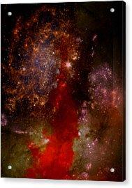 Angry Heavens Acrylic Print