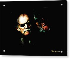 Acrylic Print featuring the photograph Angry Men by Sadie Reneau