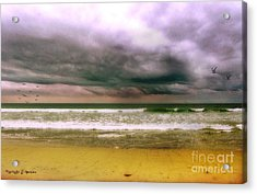 Angry October Sky Acrylic Print