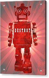 Bad Robot Acrylic Print by Dan Sproul