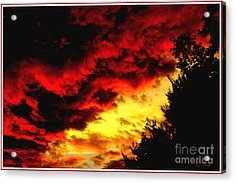 Angry Skies Acrylic Print by James C Thomas