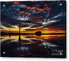 Acrylic Print featuring the photograph Angry Sky by Trena Mara