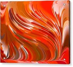 Angry Wind Acrylic Print