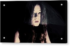 Acrylic Print featuring the photograph Angry With You  by Jessica Shelton