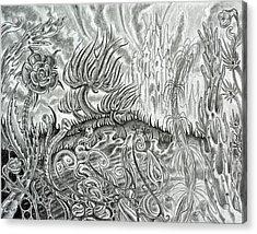 Angst Ridden Acrylic Print by Steven Bales