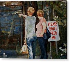 Animal Farm Acrylic Print by George Kramer
