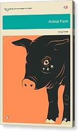 Animal Farm Acrylic Print by Jazzberry Blue