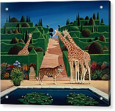 Animal Garden Acrylic Print