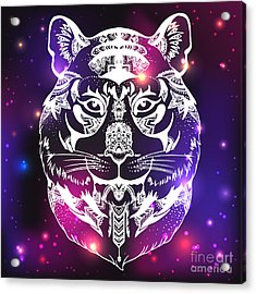 Animal Head Print For Adult Anti Stress Acrylic Print