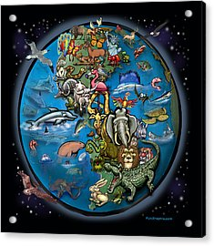 Animal Planet Acrylic Print