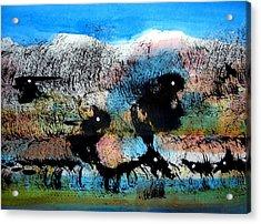 Animal World 121005-3 Acrylic Print by Aquira Kusume