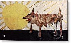 Animalia Canis Et Sol  Acrylic Print