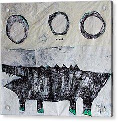 Animalia Cocodrillus No. 3 Acrylic Print