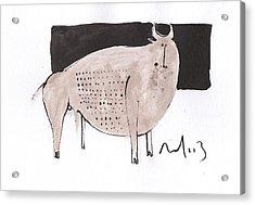 Animalia Taurus No. 7  Acrylic Print by Mark M  Mellon