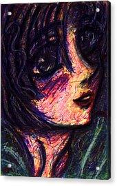 Anime Girl Acrylic Print